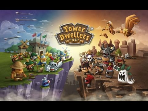 TOWER DWELLERS GOLD - Gameplay Trailer - iOS / Android