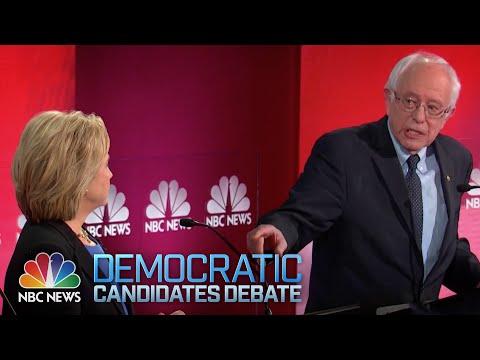 Hillary y Sanders chocaron en el último debate demócrata