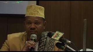 MDAHALO MZITO KATI YA HAMZA ISSA NABII FEKI NA JOPO LA MASHEKH....ASHINDWA KUTHIBITISHA UNABII WAKE.