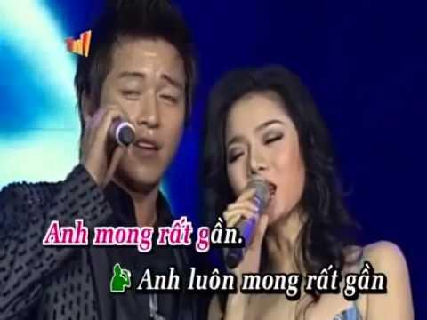 karaokeTRAI TIM KHONG NGU YEN  (TuanHung-Le Quyen)