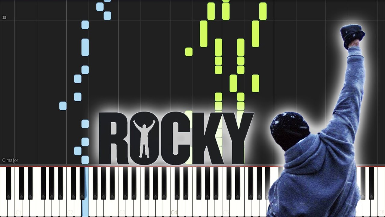 Rocky Theme Song Piano Sheet Download Youtube