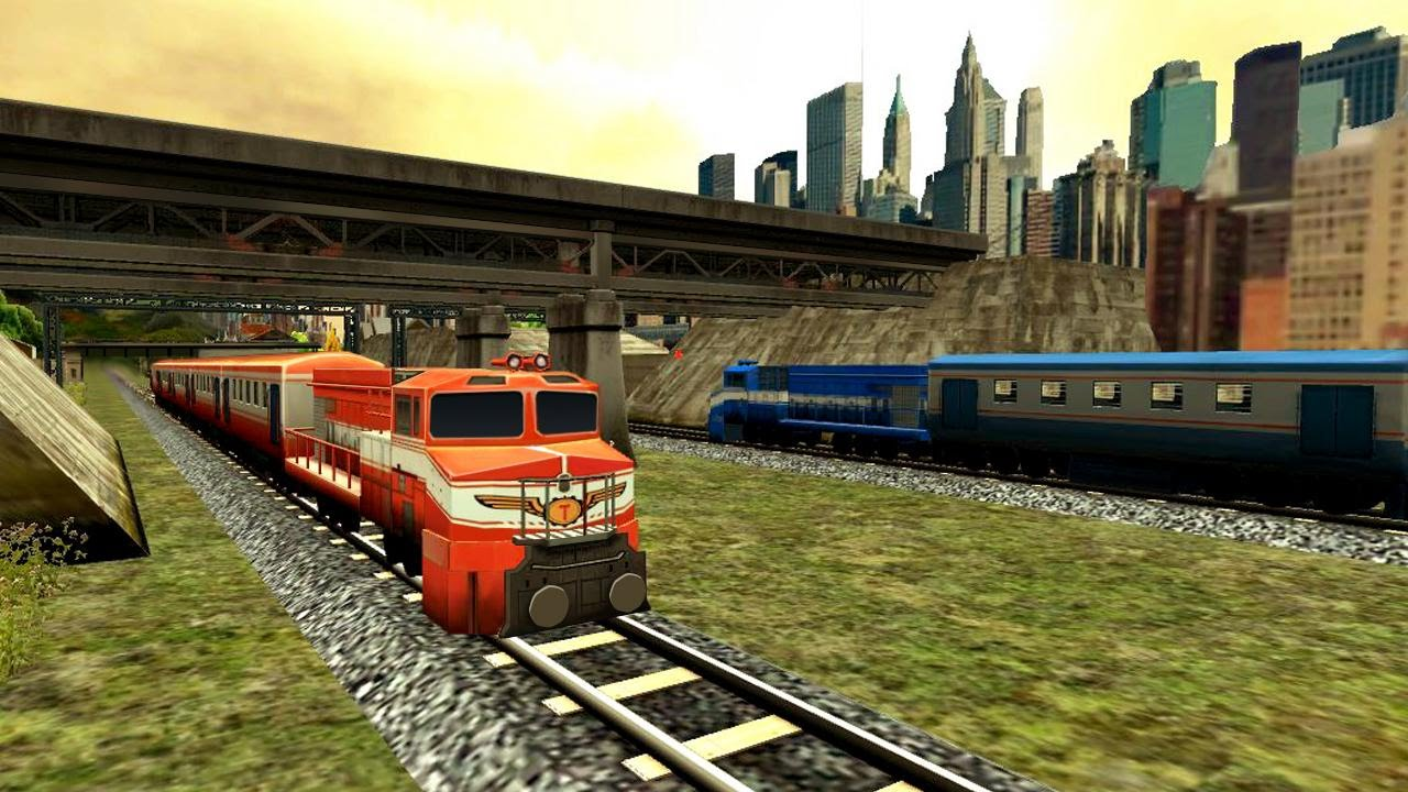 Train Racing Games 3d 2 Player Android Gameplay Hd Youtube