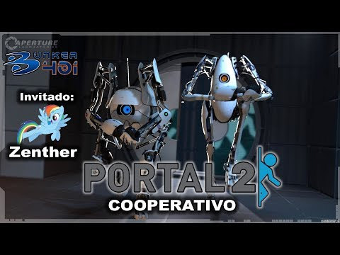 Portal 2 (2011)(Valve)(PC) | COOPERATIVO Invitado: Zenther | Gameplay | Retro