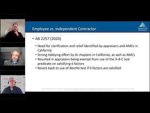 AI Answers: Legs and Regs in Appraisal Labor