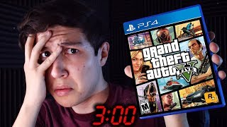 NUNCA JUEGUES GTA V ONLINE A LAS 3:00 AM... CREEPYPASTA GRAND THEFT AUTO 5