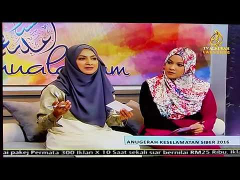 Malaysia Cyber Security Award 2016 in Assalamualaikum, TV Alhijrah