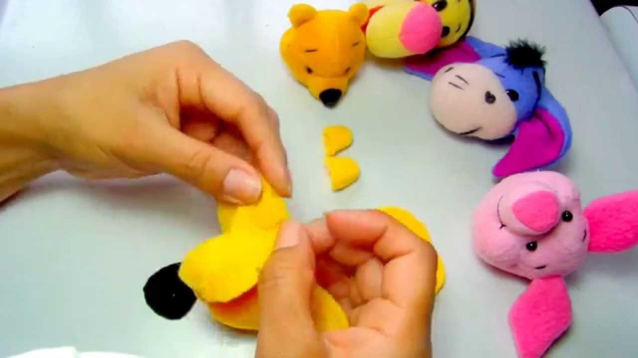 Como hacer peluche de Winnie Pooh | How to make stuffed of