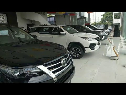 Toyota FORTUNER 4x2V vs 4x2G vs 4x2TRD Sportivo   Side by side comparison (Philippines)