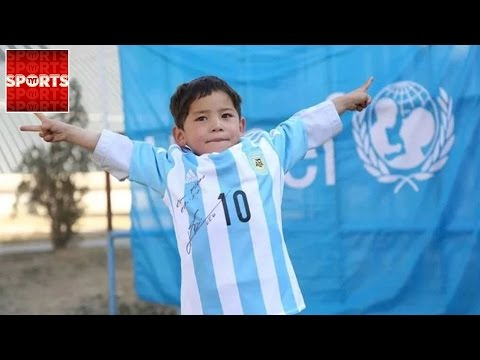 Family of Afghan Boy With Plastic Messi Shirt FORCED TO FLEE HOME