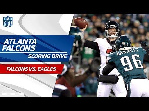 Ajayi Fumbles & Atlanta Draws 1st Blood on Scoring Drive! | Falcons vs. Eagles | NFL Divisional HLs