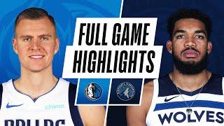 GAME RECAP: Mavericks 128, Timberwolves 108