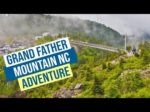 Grandfather Mountain Adventure - They closed the bridge!
