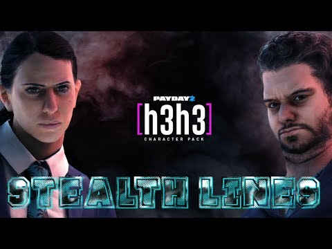 Download Youtube: PAYDAY 2 - H3H3 Character Pack (Stealth lines)
