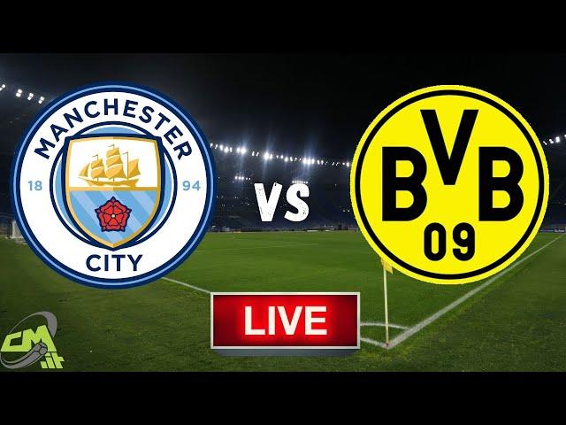 MANCHESTER CITY-BORUSSIA DORTMUND LIVE! Cronaca in DIRETTA Champions League [NO Streaming]