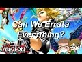 Can Yugioh Errata Everything Part 1?