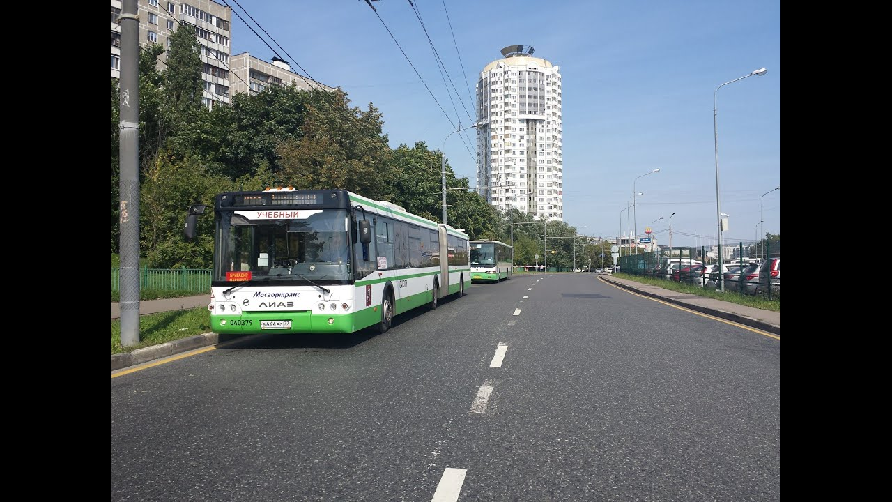 Поездка на автобусе ЛиАЗ-6213.22-01 (Учебный) № 040379 Маршрут .