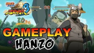 Naruto Shippuden Ultimate Ninja Storm 3 - X360 / PS3 - Hanzo Gameplay (Gamescom 2012)