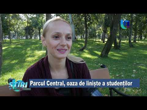 TeleU: Parcul Central, oaza de liniște a studenților