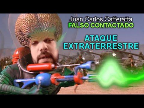 Juan Carlos Cafferatta - FALSO CONTACTADO - AMENAZA EXTRATERRESTRE