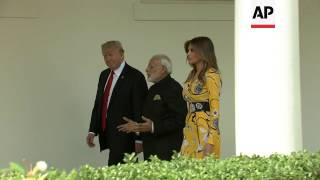 Trump Welcomes Indian PM Modi to White House thumbnail