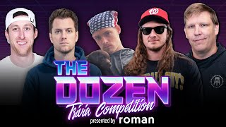 Trivia Showdown: Can The Experts Snap Their Losing Streak Against New Team? (Ep. 081 of 'The Dozen')
