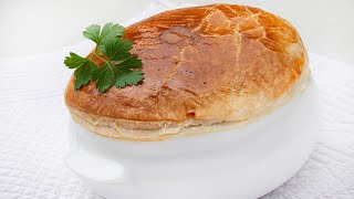 Sopa con hojaldre - Cocina Abierta de Karlos Arguiñano