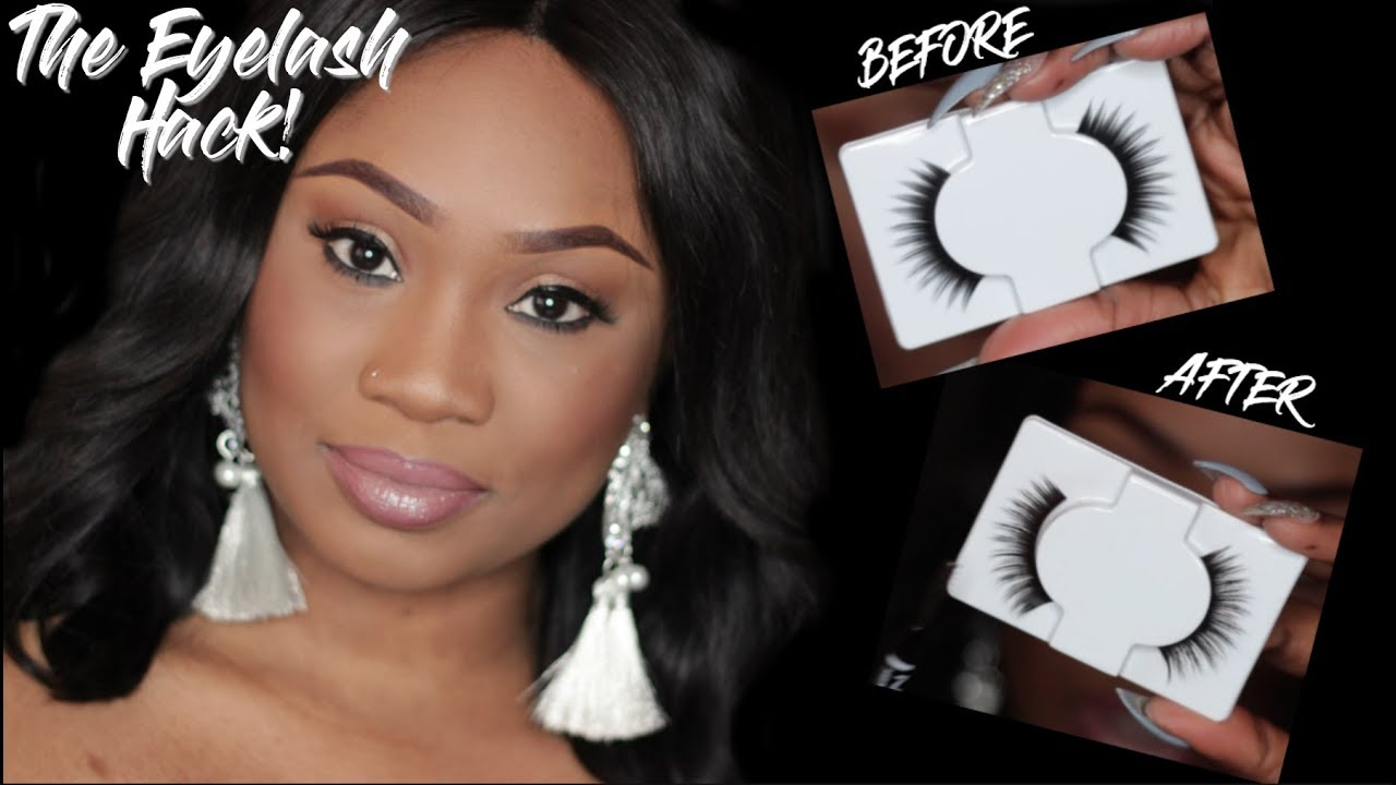 d577188e1b0 VIRAL MAKEUP HACK: Turn ANY Cheap Lash Into An EXPENSIVE WISPY LASH | DOES  IT WORK!? | I am Adija.K