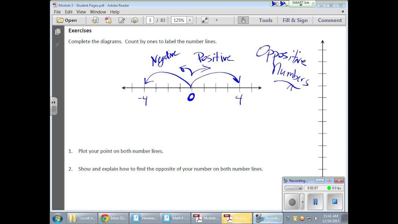 Grade 6 Module 3 Lesson 1