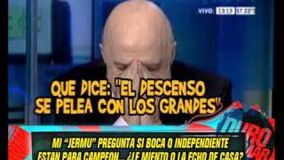 DURO DE DOMAR - FUTBOL BIANCHI - RIQUELME - PAGANI PRO BRINDISI - RAMON DIAZ - 22-04-13