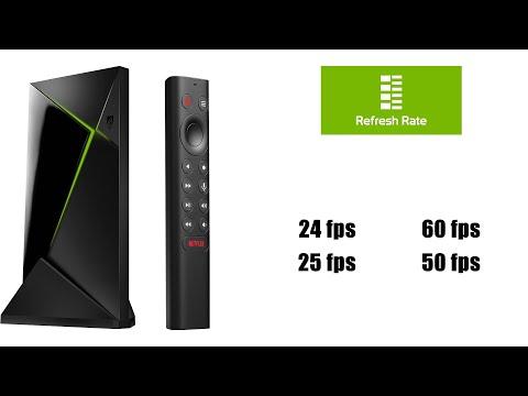 Guide til Refresh app Nvidia Shield TV (danish)