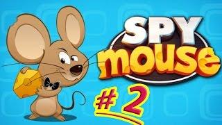 Воришка Мышка SPY mouse #2 Мышка как Воришка Боб  Играем в мультяшную игру