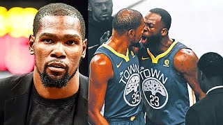 Kevin Durant Fires Back At Warriors GM Disrespectful Comment On 2018 NBA Finals Championship!