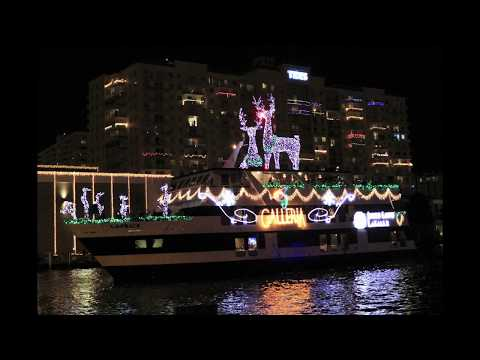 Fort Lauderdale, Florida Winterfest Boat Parade Pictures and Video