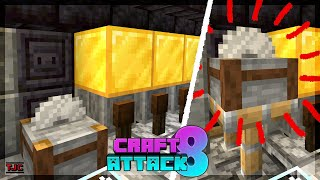 ECHTE GOLD-SÄGE mit REDSTONE in der GOLD-FABRIK - Craft Attack 8 Ep. 68