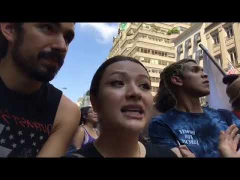 Live At DACA Protest Outside of Trump Tower In Manhattan, NYC!