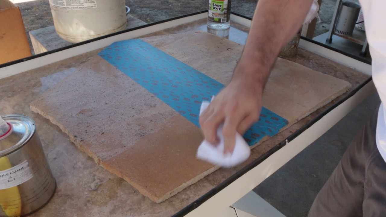How To Seal Limestone Travertine Sealing Porous Stone