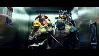 Teenage Mutant Ninja Turtles 2014 with 1987 Opening Theme Songs