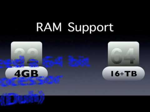 32 Bit vs  64 Bit (Old Edition - New Video in Description!)