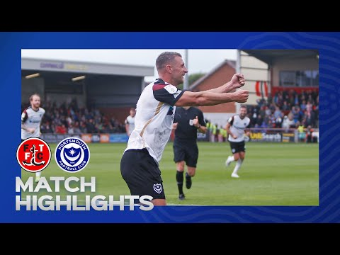 Fleetwood Town Portsmouth Goals And Highlights
