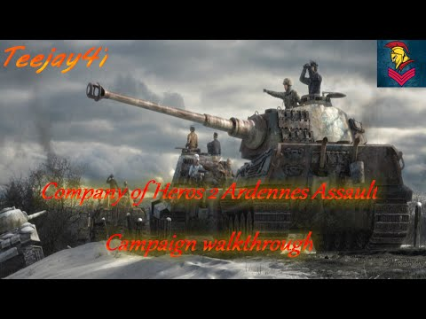 Company Of Heroes 2 Ardennes Assault Campagin Ep4 |