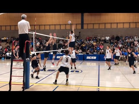 MEN's Volleyball UCSB Vs Pepperdine 2020 NCAA