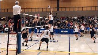 MEN's Volleyball UCSB vs Pepperdine 2020 NCAA