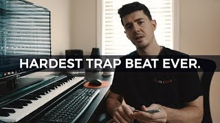 MAKING THE HARDEST TRAP BEAT EVER. Making a trap beat from scratch fl studio [EPISODE 7]- Kyle Beats