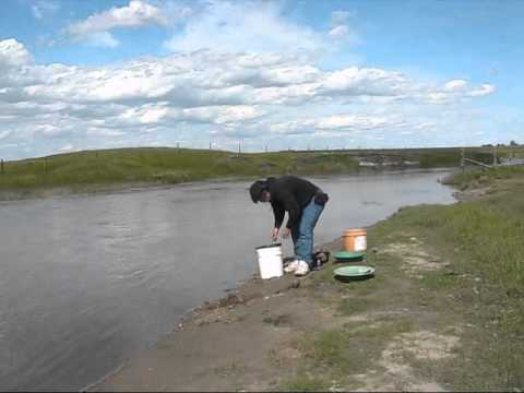 Golddigging With Greg  On The Souris Part 1