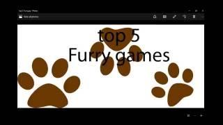 top 5 furry yiff games (Folf o'cloud)