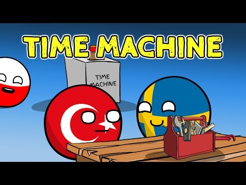 Poland in a bar | Sweden invents time machine - Countryballs