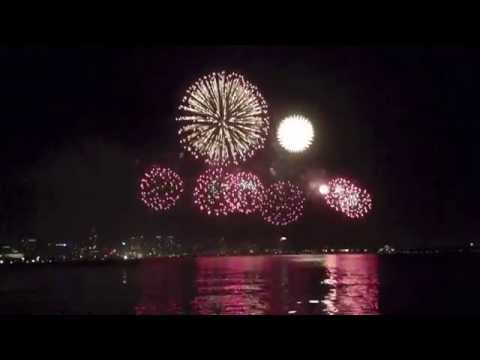 Perth Australia Day Fireworks / Skyworks 2014