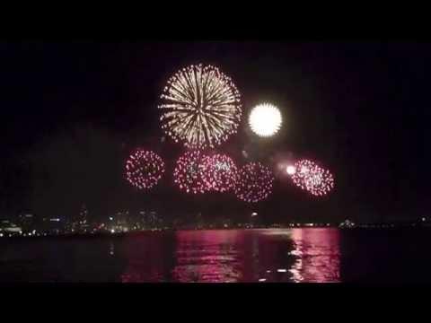 Perth Australia Day Fireworks / Skyworks 2014