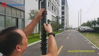 10 meter carbon fiber tripod t…