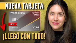 Wells Fargo Active Cash 🔥 Wells Fargo entra en la competencia de tarjetas de crédito